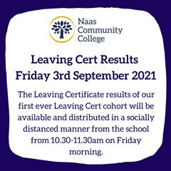 Leaving Cert Results, Friday 3rd September 2021